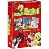 Box: Coleção O Natal Do Bob Esponja - 3 Dvds - Lacrado
