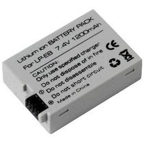 Bateria Eos 550d 600d 650d Kiss X4 X5 X6 Rebel T4i T3i T2i