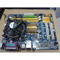 Kit Gigabyte Ga-g31m-es2c+proc D.core E2180 Sock775 Me.ddr2