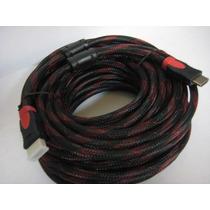 Cable Hdmi 15 Mts Metros.full Hd Version 1.4 Alta Velocidad