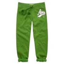 Pantalon Mono Verde Talla Xs Aeropostale Original!!!