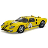 Ford Gt40 Mkii 1966 Shelby Collectibles 1:18 Amarelo Sc417