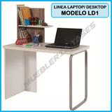 Mesa Para Computadora O Laptop Niveles Moderna Modelo Ld1