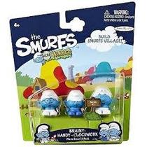 Smurfs 3 Micro Smurfs Gênio Habilidoso Robô Smurf Micro Vila