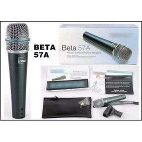 Microfone Supercardióide Shure Beta 57a Sm57 A Beta