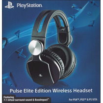 Headset Wireless Stereo Sony 7.1 Pulse Elite Edition Ps3 Ps4