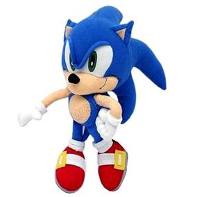 Pelucia Sonic Boneco Antialergico Games Jogo Ps4