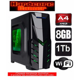 Cpu Gamer Amd A4 7300/ 1tb/ 8gb/ Hd 8470d/ Hdmi/ Gta,csgo