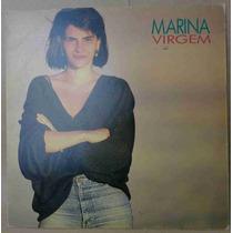Marina Lima Lp Nacional Usado Virgem 1987 Encarte