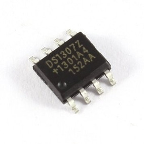 Circuito Integrado Rtc Ds1307 Clock Tempo Real Ds1307z+ Smd