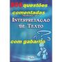 800 Questões De Interpretação De Texto Comentadas