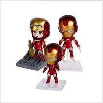 Kit 3 Bonecos Funko Homem De Ferro 3 - Iron Man Vingadores