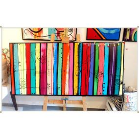 Cuadros Abstractos Grandes !!!!!!!! Modernos Pintados A Mano