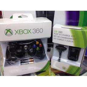 Controle Xbox 360 E Bateria Com Carregador