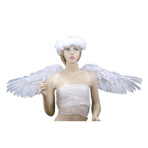 Fashionwings (tm), White Sidespan Wide Extender Las Alas De