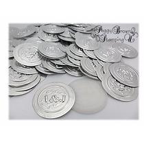 Repujado Aluminio Medallones Boda, Comunión, 15 Años 25mm