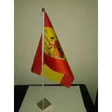 Bandeira Da Espanha De Mesa 20 X 30 Cm Países