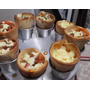 Suporte Para Assar Cones Pizza + 8 Cones De 14 X 6,5 Cm