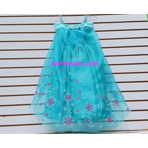 Vestido Disfraz Elsa Frozen Fever Disfraces Sofia Anna Ana