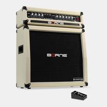 Amplificador Head Borne Gladiator 1200 C/ Caixa 100w 4 Falan