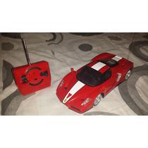 Carrinho Ferrari Enzo Controle Remoto Baixou E Bateria Pilha