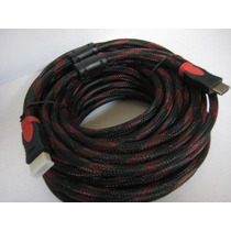 Cable Hdmi Blindado De 5mts Version 1.4 Full Hd