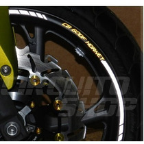 Friso Adesivo Roda Refletivo Rec1 Moto Honda Hornet Cb 600 F