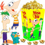 Kit Imprimible Phineas Y Ferb Candy Bar Y Cotillon 2x1