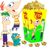 Kit Imprimible Phineas Y Ferb Candy Bar Golosinas Cumple 2x1