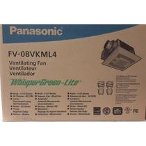 Ventilador Extractor P/baño Panasonic Silencioso Whisperlite