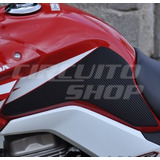 Protetor Tanque Lateral Moto Honda Fan Titan 150 A Partir 14