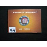 Fiat - Manual De Uso E Manutenção - Uno, Fiorino