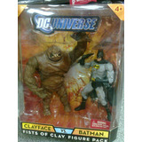 Dc Batman Vs Clayface , Puños De Barro !!!!