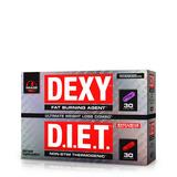 Dexy Diet Termogênico+diurético 60caps Lipo6 Mamba Importado