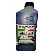 3 Un Aditivo Para Radiador Koube Flex & Diesel - Azul 1l