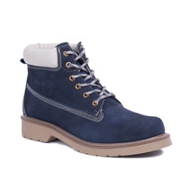 Botina Boots Company Adventure Lumberjack Azul Marinho