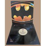 Batman Lp Nacional Trilha Do Filme 1989 Encarte Prince
