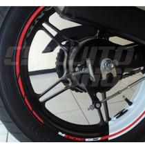 Friso Adesivo Tuning Roda Refletivo M01 Moto Honda Cb 300 R