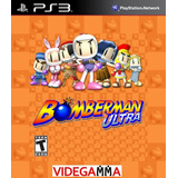 Bomberman Ultra - Playstation 3 - Vgm