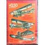 Osl Sello Aéreo 401 Uruguay Aviación