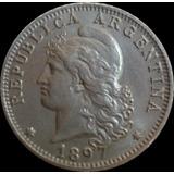 Argentina Moneda 20 Centavos 1897 Sin Circular Fdc.
