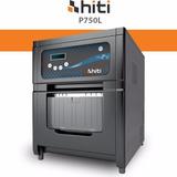 Impressora Hiti P750l + Papel E Ribbon 10x15 Para 1000 Fotos