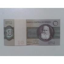 Notas, Cédula Antiga 10 Dez Cruzeiros - Série 313 - N.21746