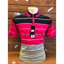 Kit C7 Camisa De Gola Polo Masculino Listrada Lacoste Pronto