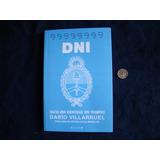 Dni. Darío Villarroel. Nuevo, Es Un Libro