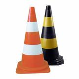Cone De Sinalização E Segurança 50cm Plastcor