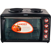 Horno Eléctrico Ranser He-ra60rc 3200 W, 85 Lts, 2 Anafes