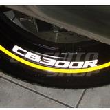 Adesivo Interno Refletivo Roda Honda Cb 300 R + Frete Grátis
