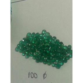 Esmeraldas Lapidada Com 2mm
