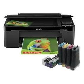 Impressora Epson Tx125/tx135 Com Bulk Ink Tinta Corante
